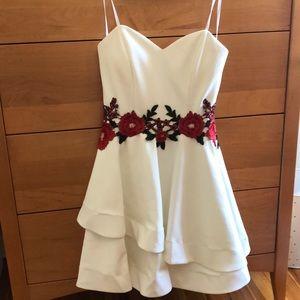 fancy strapless dress